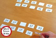 Primary Number Sense Math / Math activities for educators to use in classrooms - spatial reasoning focussed