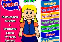 English Step By Step - 3rd Graders