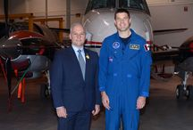 Canadian Astronaut Jeremy Hansen Visits North Bay / April 17, 2015  http://northbaychamber.com/canadian-astronaut-jeremy-hansen-coming-to-north-bay/