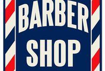 Barbershop Man Cave Decor