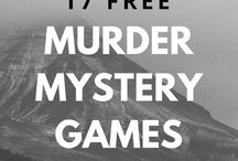 Muted mystery games