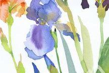 Floral / Flores em aquarela