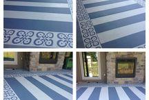 Fußboden creativ