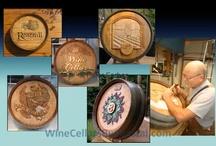 Creative Wine Barrel Carving Designs for Custom Wine Cellars