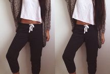 Chill outfits lazy days