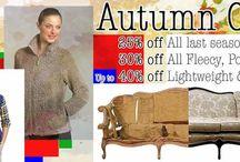 Autumn Fabric Ideas: Fleece / Showcasing some of our fabrics and ideas we love.