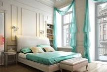 Curl Up In Bed / Beautiful bedrooms and inspiration