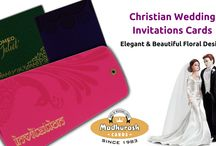 CHRISTIAN WEDDING INVITATION CARDS / Diversified Collection of Christian Wedding Invitations Cards To make your occasion memorable