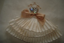 vestidos papel