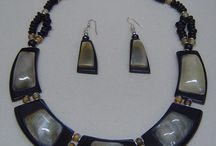 Horn Necklaces / African Costume jewelry