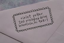 snail mail and such.