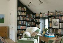 Reading nook/ Library room