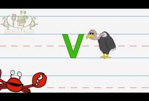 How to Write - ABC letter videos / by Sadean Al-Ali
