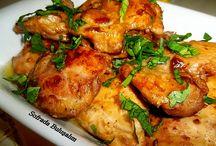 Terbiyeli tavuk