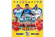 Match Attax Extra 2014 - 2015 / Topps returns for extra time for the new Match Attax Extra 2014 - 2015 collection. The release date will be the end of March.