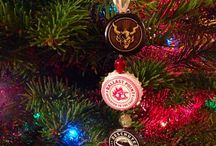 Beer Cap Ornaments
