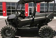 Custom Honda Pioneer 700 | 700-4 UTV / SxS / Side by Side ATV (SXS700) / Custom Honda Pioneer 700 Side by Side ATV Pictures - Lift Kits - Wheels - Tires - Aftermarket Parts & Accessories