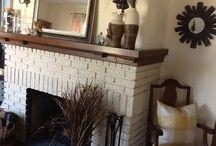fireplace makeover ideas / by Rachel Elmer-Green