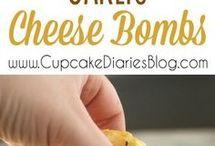 FOOD - Garlic cheese herb breads