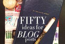 blogging ideas || social networks