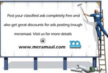 Post Classified ads and get discounts