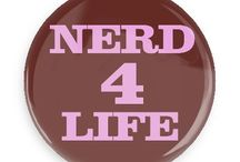 Nerdy Humor Buttons / Funny Buttons - Custom Buttons Promotional Badges - Funny Geek Sayings Pins - Wacky Buttons