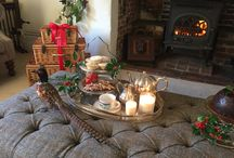 Todhunter Christmas Baskets and Hampers / Todhunter inspiration and Christmas feel good factor .