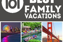 Family Getaways / Best vacation spots & ideas