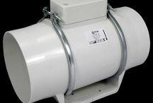 potrubní ventilátory Dalap AP HOBBY / plastové potrubní ventilátory pro hobby použití