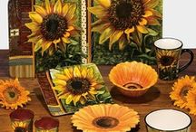 Sunflower Kitchen / Out with the chili peppers, in with the sunflowers!