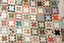 Stars in a time warp quilt settings ideas