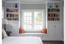 Cozy Window Seats / These inspirations were pinned while designing a Boulder County remodel, 2015.