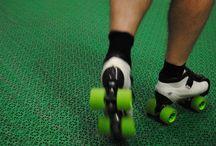 Roller Derby on Bergo Floors