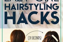 Lazy hair hacks