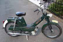 Vintage moped lives