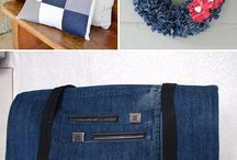 Crafts - From Recycled Jeans