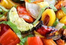 Vegetable and dinner dishes