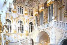 po Rusku Hermitage Museum, Saint Petersburg: