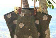 сумки из льна