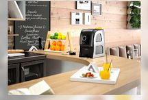 Zumex Juice Machines / Enjuice your life with fresh juices. Best for your juice bar, cafe, brekfast spread, home and almost anywhere.