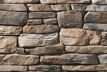 """Ledgestone: Dutch Quality / The choice for adding truly rugged character to your space. Ledgestone is heavily textured withdeep lines and irregular shapes that create dramatic shadowing and lend the appearance of hand-hewn stone. Sizing: Height: 1 ½"""" - 6 ½"""" / Length: 7 ½"""" - 23"""""""