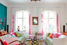 Interior, colorful