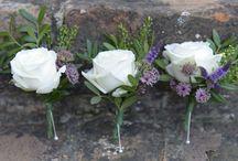A White Wedding... / White wedding flowers
