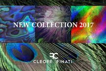 Cleofe Finati Collections 2017: òneiros, between dream and reality / Morpheus leads us to a world of wonders, cradling our spirit and mind, in a dream in which the protagonists are dusty rose petals, floral designs by indefinite feelings, insects and colorful feathers, through networks and iridescent clothes. Again Cleofe Finati presents stylistic innovations, art and color come to life in this year through Oneiros, which is both dream and reality, past, present and future, memory and vision.