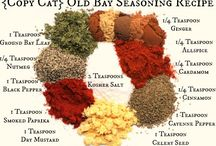 Salts and spice mixes