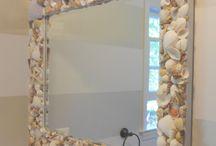 Arte com conchas
