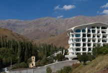 Mountain Architecture / Houses in the snow, Shelters for alpinists, Mountaing lodges, Cabin car buildings