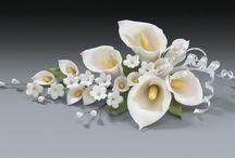 Cukrové kvety a postupy