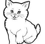 gatos colorear pintar / imágenes en donde aparecen gatos para colorear o pintar.