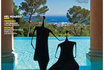 PRESS / ADItalia June 2014 / A house on the #FrenchRiviera #TiEffeEsse #Cannes